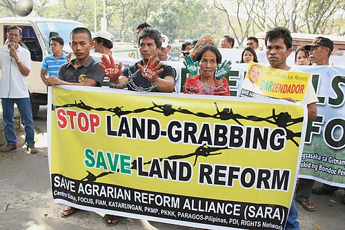 Implementation of the comprehensive agrarian reform
